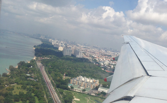 Arriving At Singapore, Cymplified!
