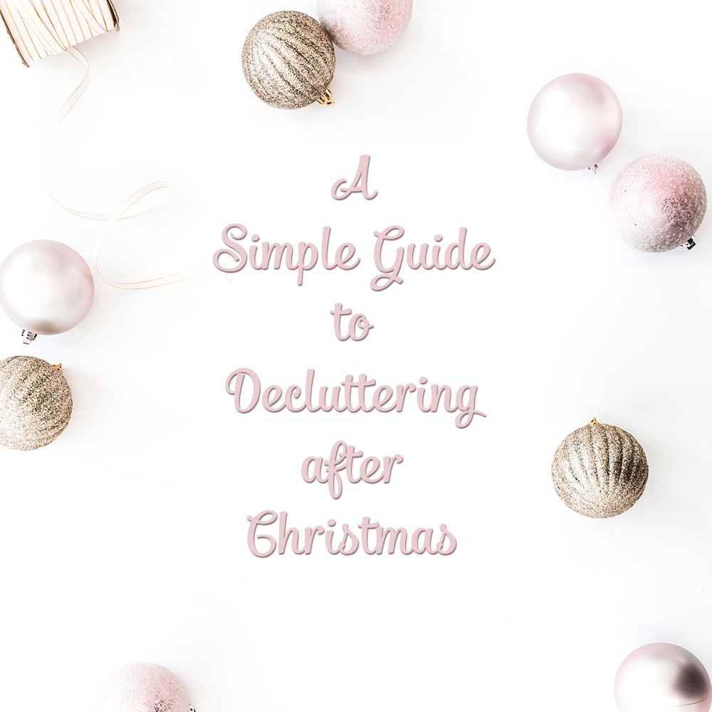 Guest Post: Simple Guide to Decluttering after Christmas, Cymplified!