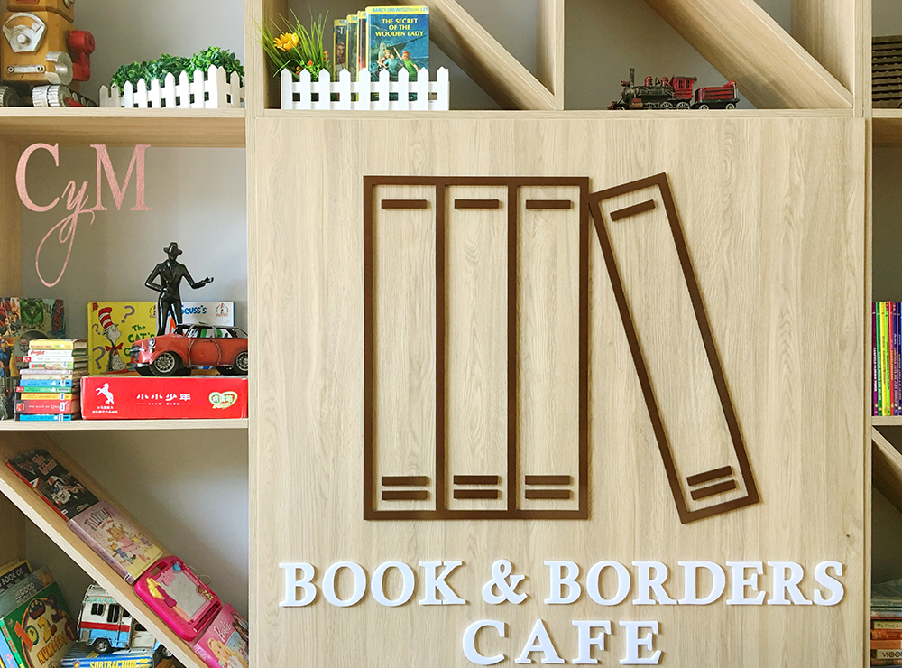 Book & Borders Café, Cymplified!